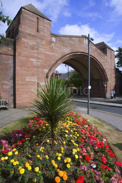 Newgate Roman Wall Chester