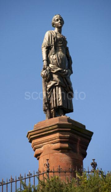 Highland Mary Statue Dunoon