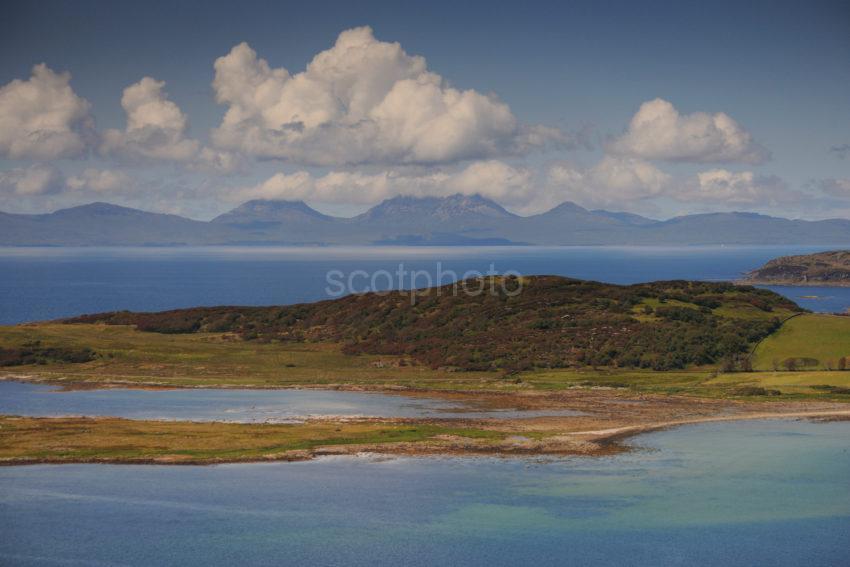DSC 2130 View Without Boat Towards Jura Across Ardpatrick