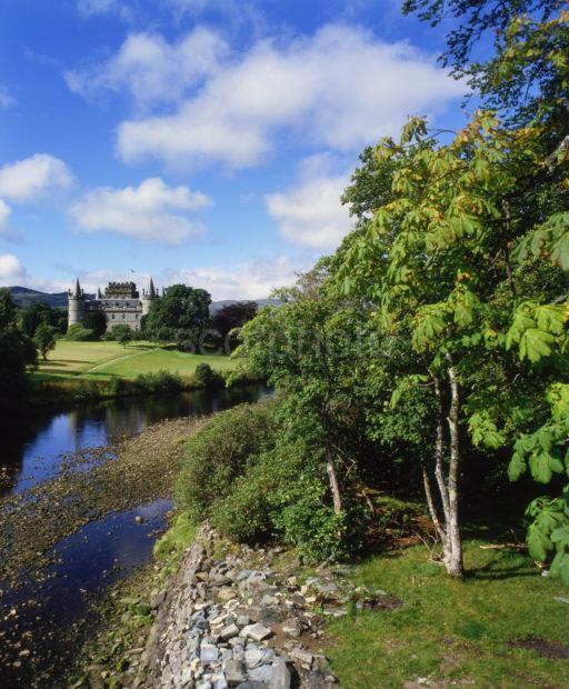 Summer View Inveraray Castle