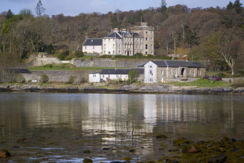 WY3Q9758 Lochnell Castle Nr Benderloch Argyll