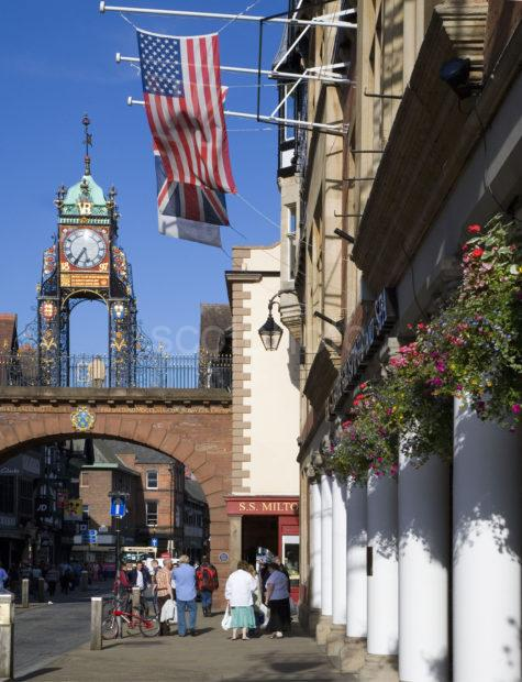 WY3Q5128 Eastgate Clock From Grosvenor Hotel 47Mg