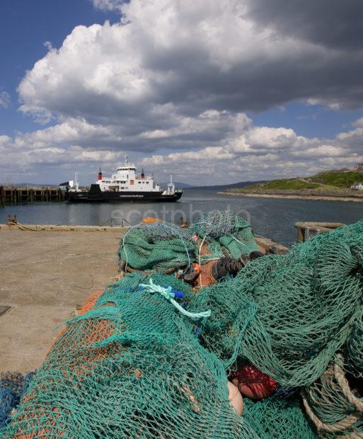 MV Coruisk From Nets On Pier Mallaig