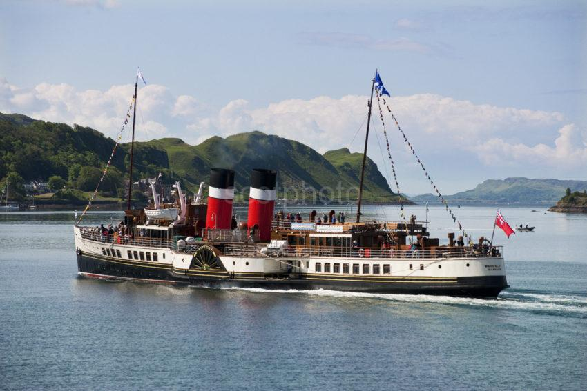 PS Waverley In Oban Bay 2012
