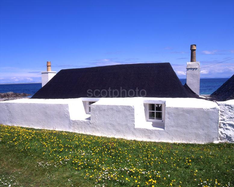 Beautifully Preserved Croft Island Of Tiree