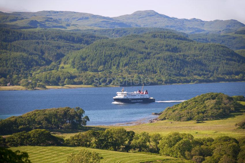 MV Finlaggan Ferry West Loch Tarbert