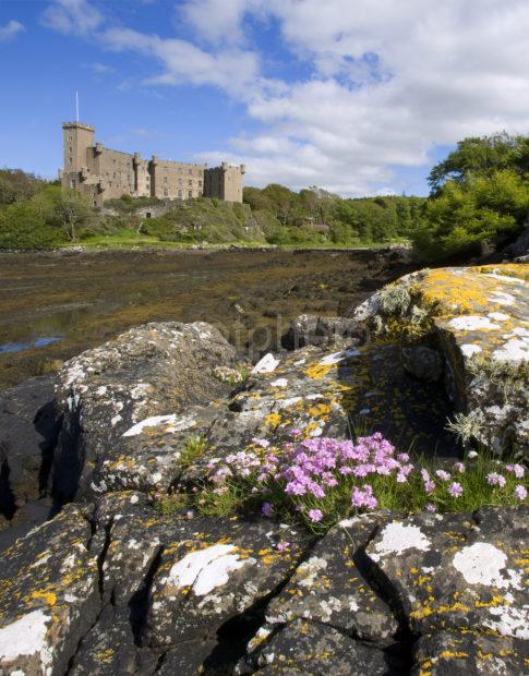 WY3Q8611 Dunvegan Castle From Across Bay Isle Of Skye