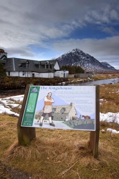 Kingshouse Sign And Buachaille