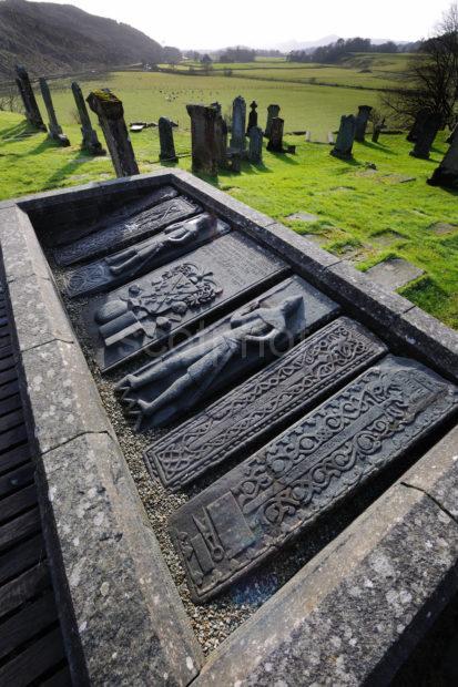 Scuptured Grave Slabs Kilmartin