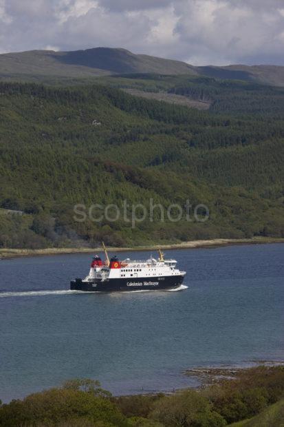 Portrait Pic Of Finlaggan In West Loch Tarbert Inbound