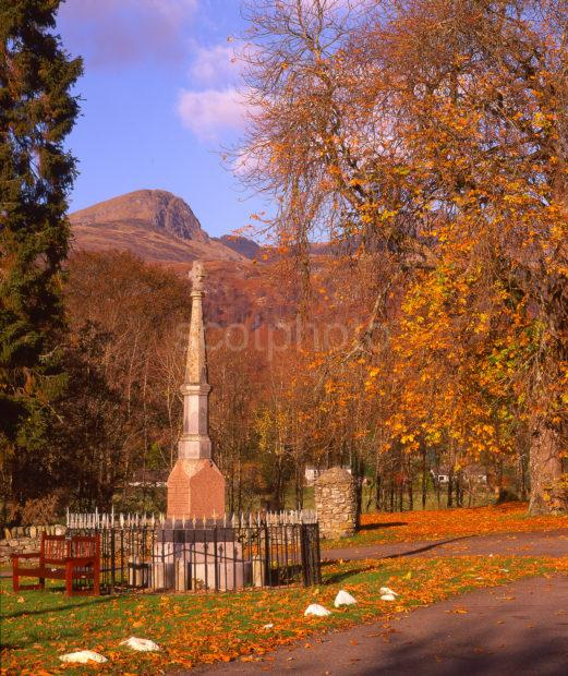 Autumn Scene From Killin Towards Ben Nan Oighreag Stirling