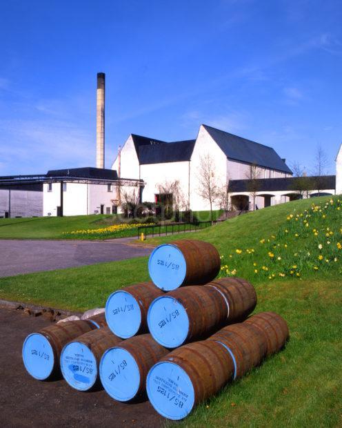 Auchroisk Distillery Nr Boat O Brig River Spey Nr Rothes Moray