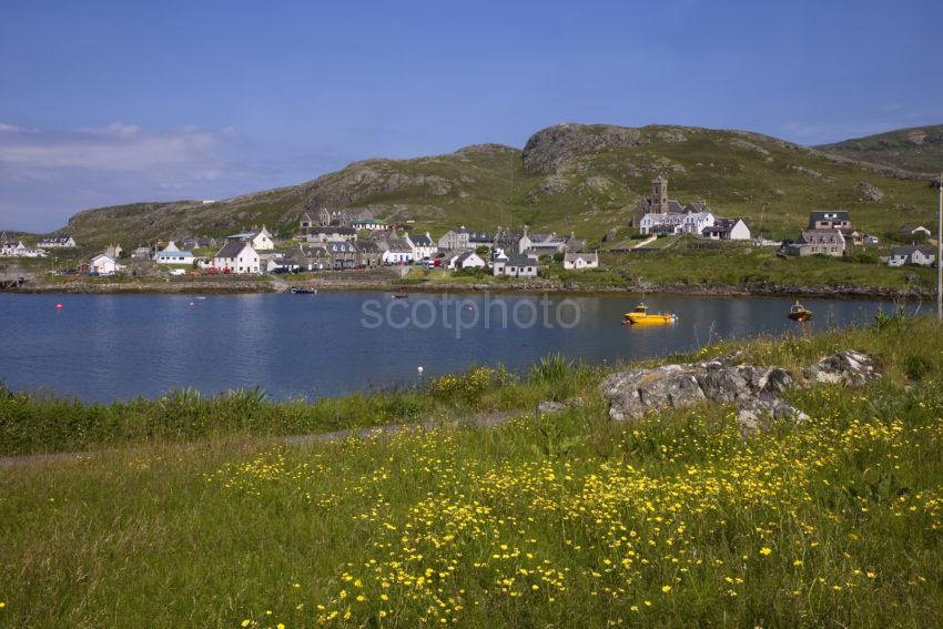 View Towards Castlebay From The East Barra