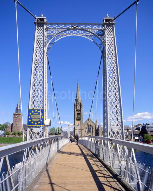 Greig Street Footbridge Inverness