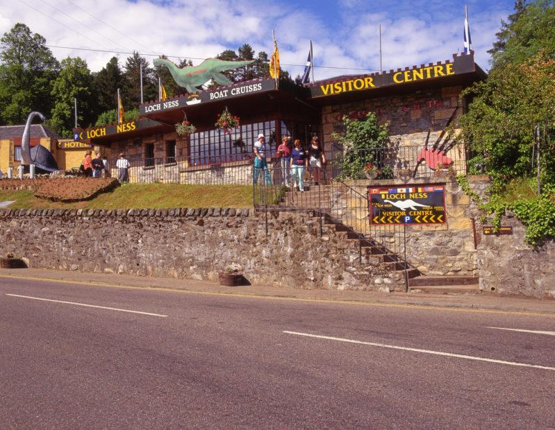 Vistor Centre Loch Ness