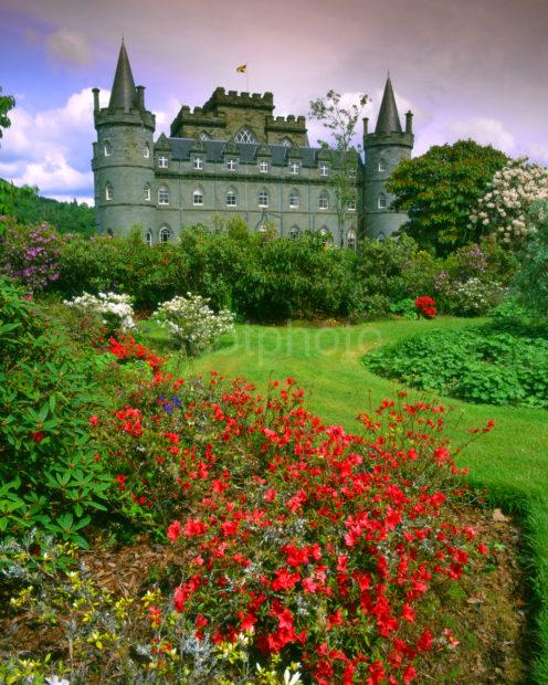 Beautiful Private Gardens At Inveraray Castle Argyll