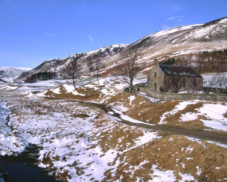 Spittal Of Glenshee Church At The Head Of Glenshee Perth And Kinross