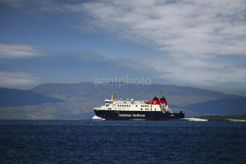 New 2012 Shot Of Finlaggan En Route To Islay