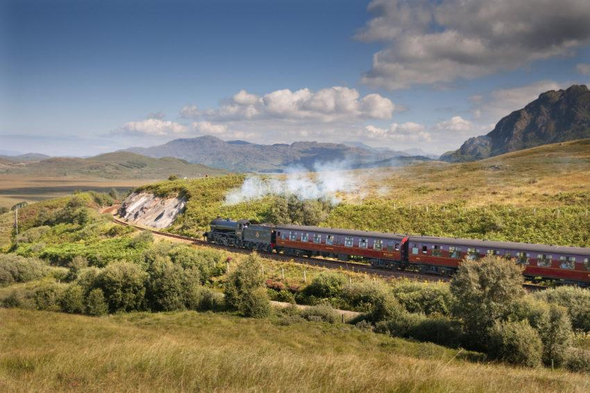 DSC 7145 The Great Marquess 61994 F William To Mallaig Train West Highland Line