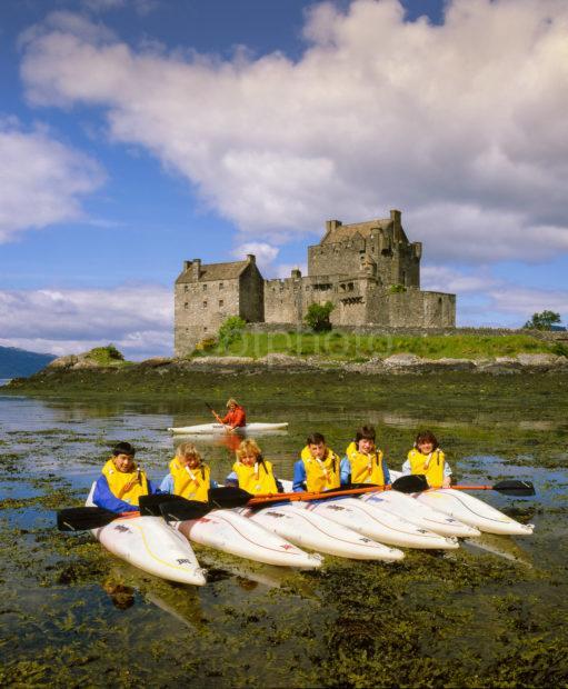 Eilean Donan Donan Canoes 3
