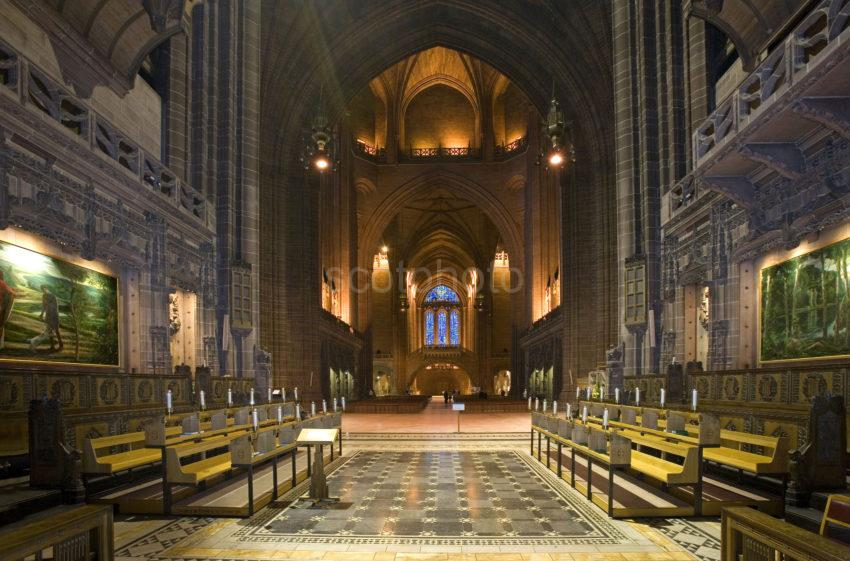 Interior Anglican Cathedral