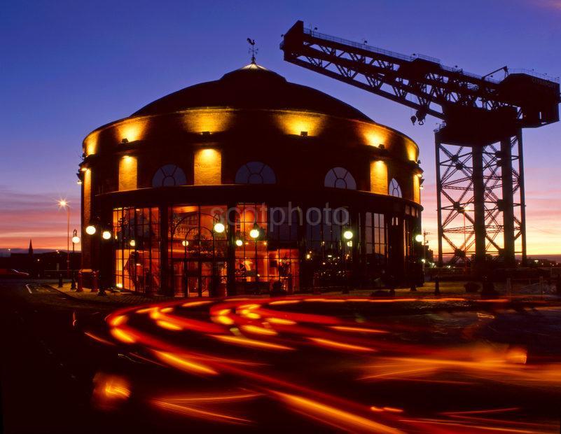 The Rotunda And Big Bertha City Of Glasgow