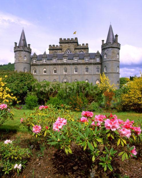 Inveraray Castle From Private Garden