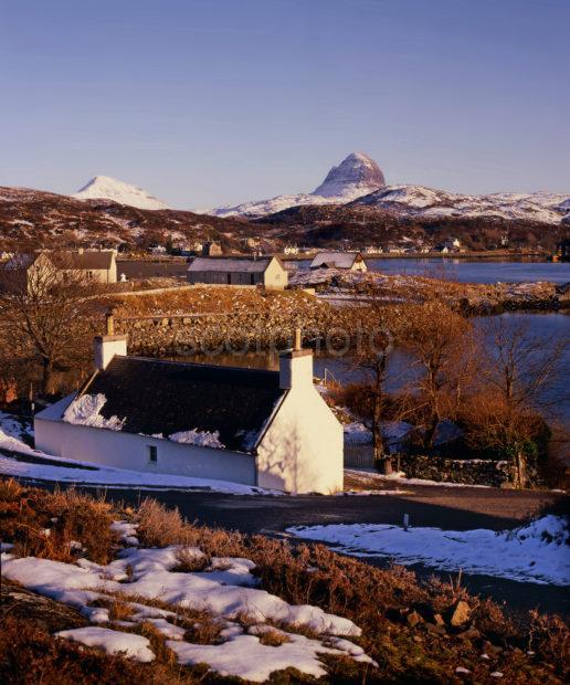Winter View Of Lochinver