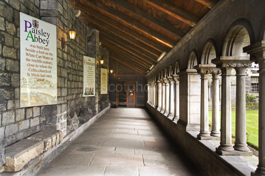 Cloisters In Paisley Abbey