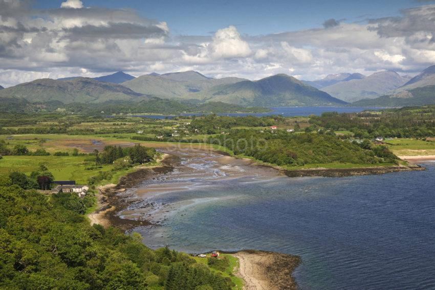 View From Lady Margarets Tower Loch Creran Argyll