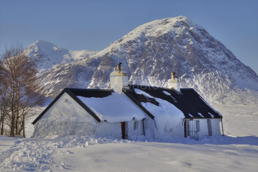 The Black Croft And Buachaille Etive Mhor Glencoe