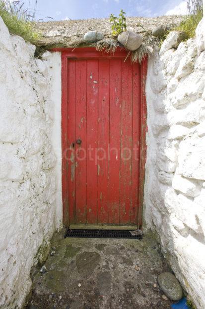 I5D7529 Front Door Of Tiree Croft