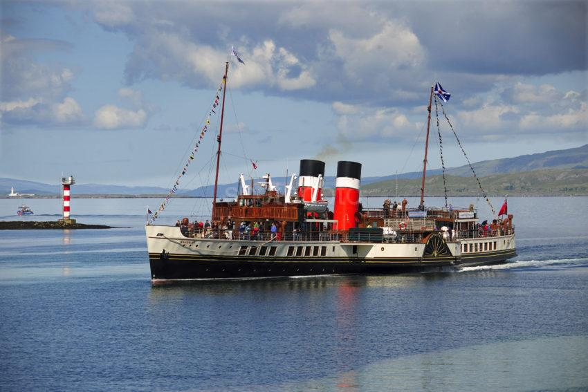 PS Waverley Arrives In Oban June 2012