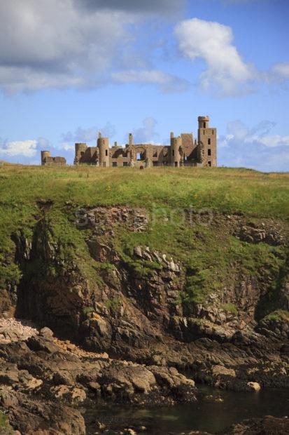 Portrait Slains Castle Aberdeenshire