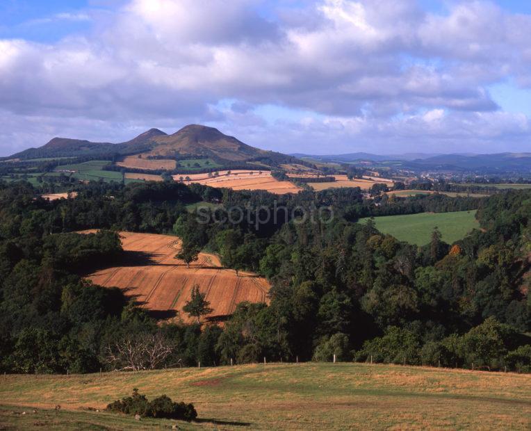 The Eildon Hills Scottish Borders