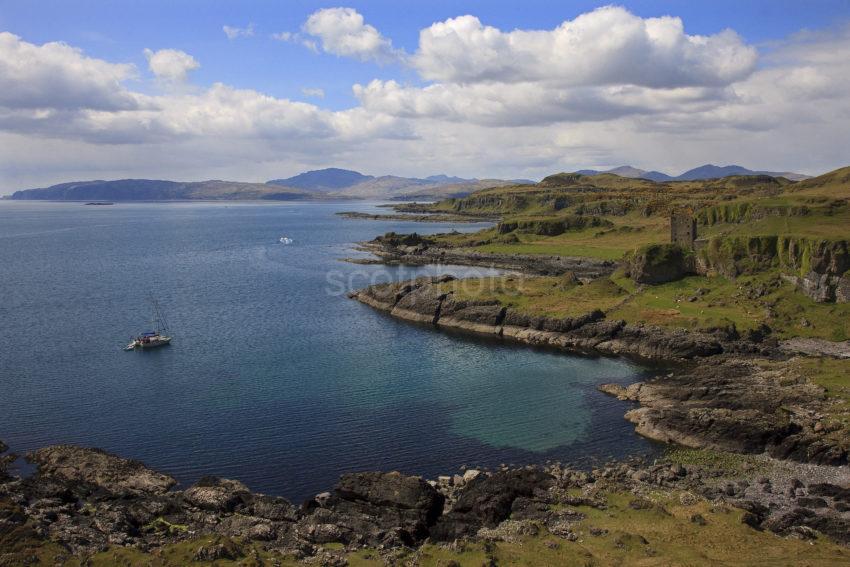 Great View Wide Angle Kerrera Coastline