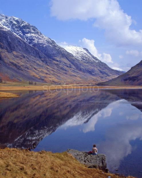 Rerflections Pass Of Glencoe Lochan