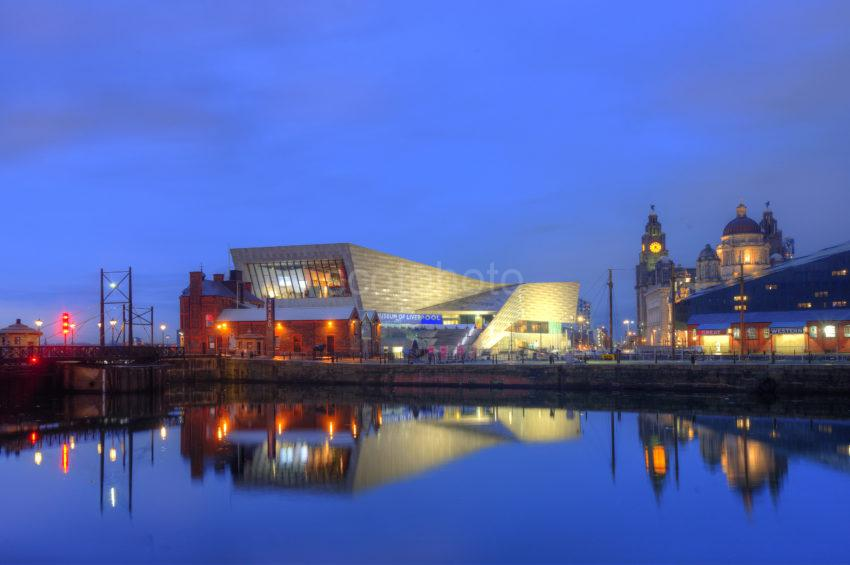 0I5D8461 The Museum Of Liverpool From Albert Dock