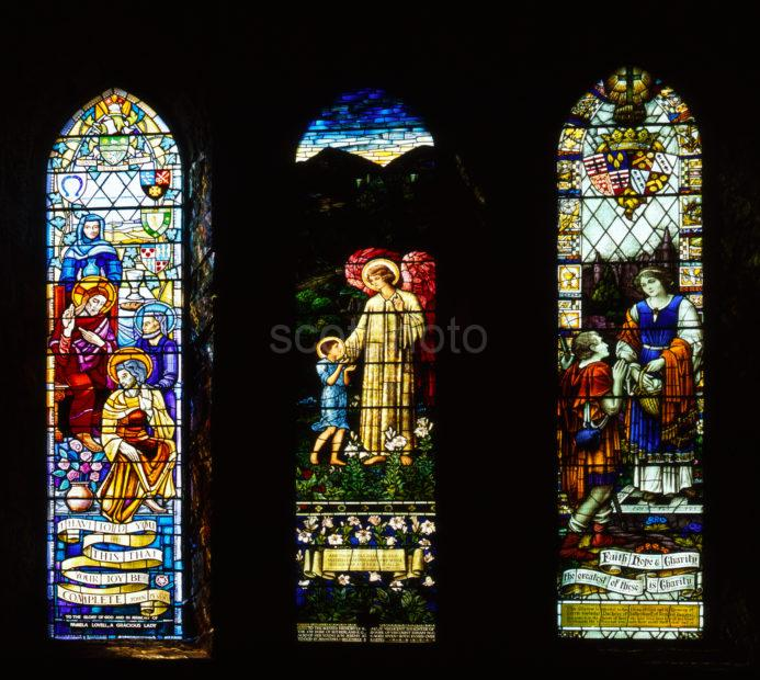 Stained Glass Windows Dornoch Cathedral