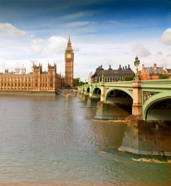 Houses Of Parliment And Westminster Bridge PORTRAIT