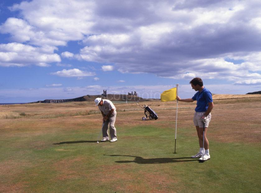 Golf Near Dunstanburgh Castle