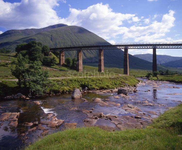 Auch Viaduct Near Tyndrum Stirling Region