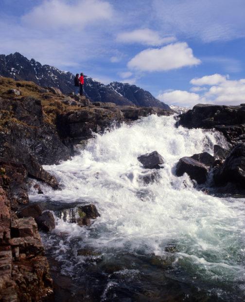Waterfall In Glencoe