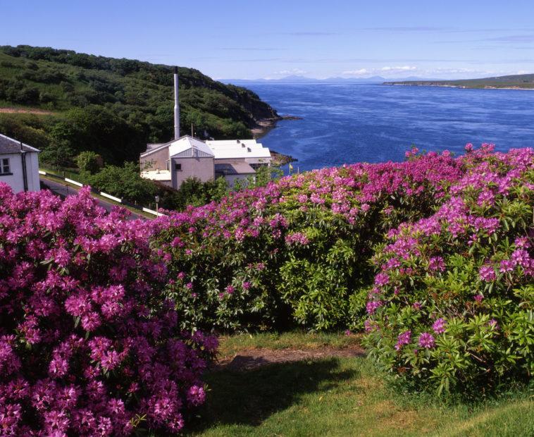 Caol Lla Distillery And Sound Of Islay Port Askaig Islay