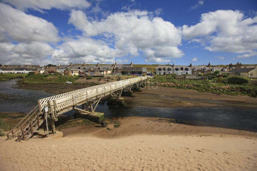 Port Errol Village Aberdeenshire NE Scotland