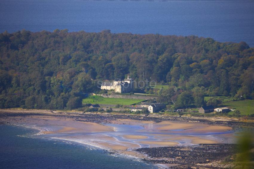 Lochnell Castle From Ben Lora Benderloch