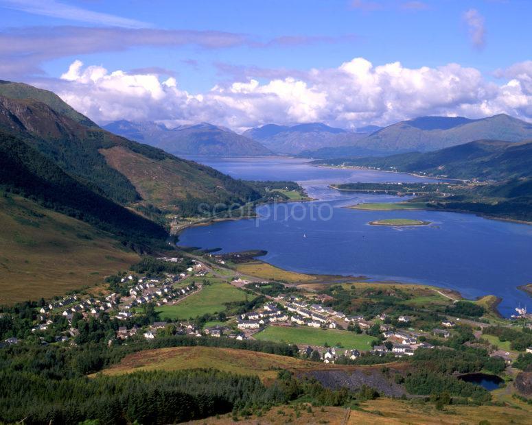 Towards Ballachulish And The Morvern Hills From Glencoe