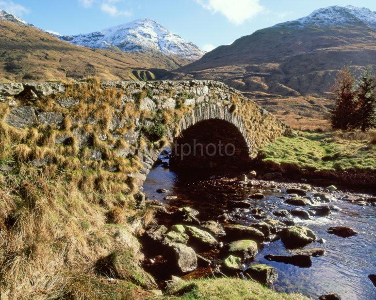 The Butter Bridge In Glen Kinglas Cairndow