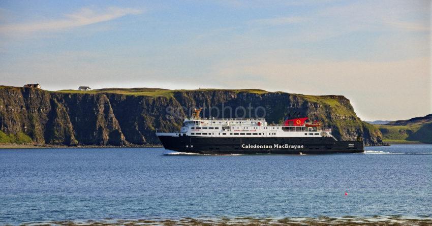 MV Hebrides Arrives At Uig Skye