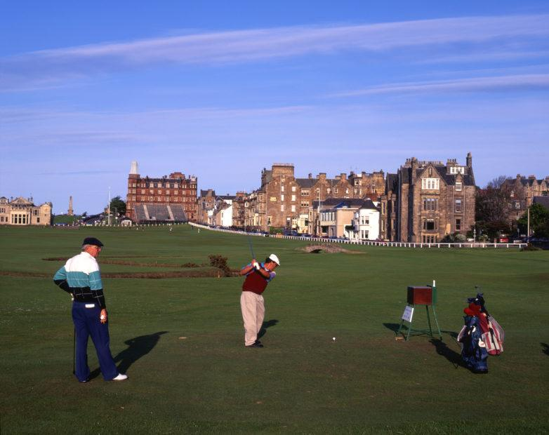 Playing The Old Course At St Andrews St Andrews Fife